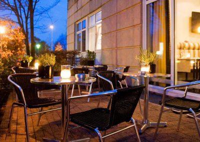 Terrasse Mercure Hannover